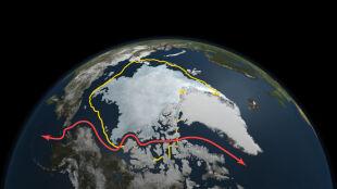 Tak topnieje Arktyka. Lodu coraz mniej