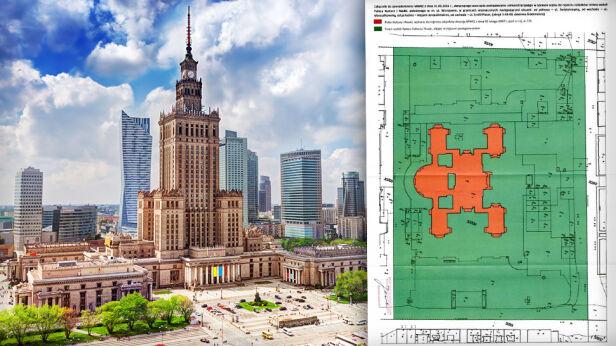 Teren wokół Pałacu Kultury będzie zabytkiem? Shutterstock / MWKZ