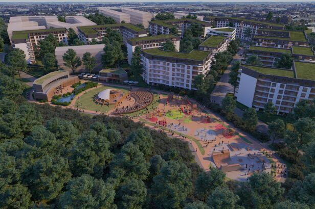 Inwestor chce zbudować półtora hektarowy park mat. inwestora