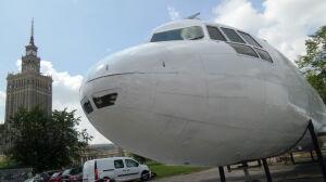 """Samolot """"wylądował"""" obok Pałacu Kultury. """"Prawdopodobnie nielegalnie"""""""