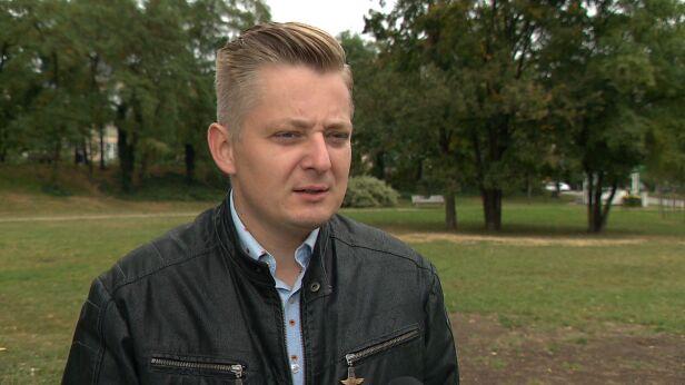 Jakub Stefaniak, kandydat PSL na prezydenta Warszawy TVN24
