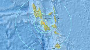 Bardzo silne trzęsienie Ziemi na Pacyfiku. Aż 7,2 w skali Richtera