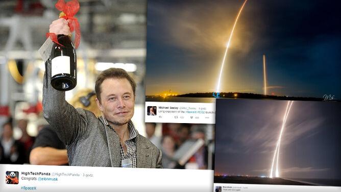 Udane lądowanie Falcona 9. To wielki <br />krok dla lotów kosmicznych