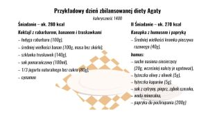 Zbilansowana dieta: propozycje posiłków