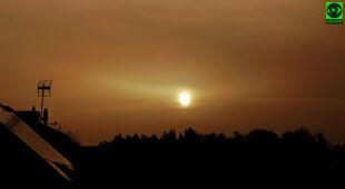 Pył znad Sahary w północnej Polsce