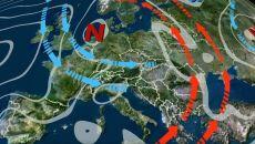 Skandynawski niż kształtuje pogodę
