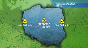 Warunki drogowe w sobotę