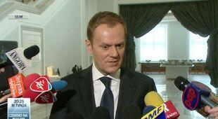 Donald Tusk o raporcie powodziowym NIK (TVN24)